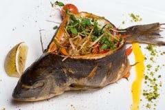熏制的鱼 免版税库存图片