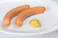 熏肉香肠 免版税库存照片