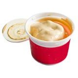 熔化的冰淇凌 免版税库存图片