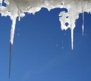 熔化的冰 免版税图库摄影