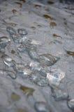 熔化的冰 免版税库存照片