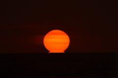熔化的太阳 库存照片