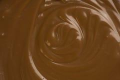 熔化的巧克力 图库摄影