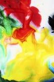 熔化的彩虹 免版税库存照片