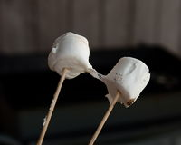 熔化的蛋白软糖 库存照片