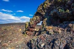 熔岩曲拱 免版税库存图片