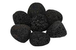 熔岩石头-热的石头 免版税图库摄影