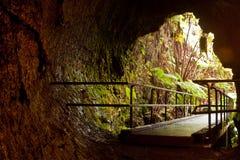 熔岩管 库存照片