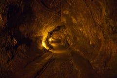 熔岩管 库存图片