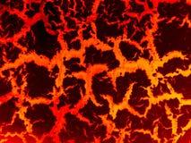 熔岩高明的地面 免版税库存图片