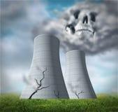 熔毁核反应堆 免版税图库摄影