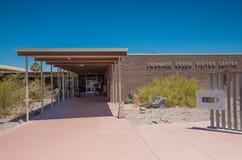 熔炉小河访客中心,死亡谷国家公园 免版税库存图片