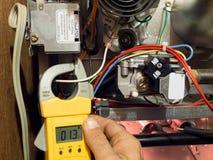 熔炉热化维护 免版税库存图片