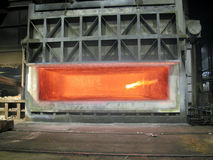 熔炉熔炼 免版税库存照片