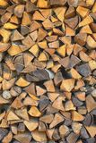 熔炉的木柴 免版税库存图片