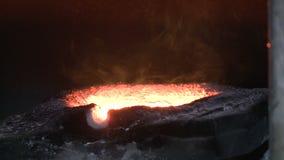 熔炼1的金属的熔炉 影视素材