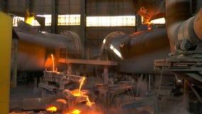 熔融金属涌入了造型 影视素材