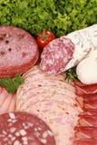 熟食肉牌照 库存照片