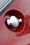 燃料加液盖 图库摄影