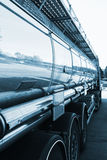 燃料卡车,罐车 免版税库存图片