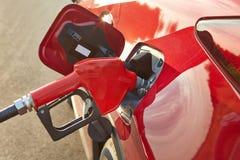 燃料喷嘴装填 库存图片