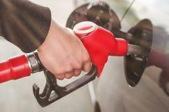 燃料喷嘴 免版税库存图片