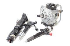 燃料喷射和燃油泵 图库摄影