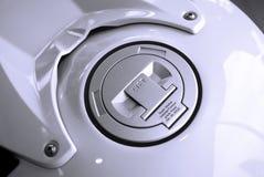 燃料摩托车坦克 免版税图库摄影