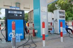 燃料服务站 库存照片