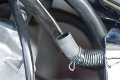 燃料油管摩托车 免版税库存照片