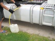 燃料窃贼 免版税库存图片