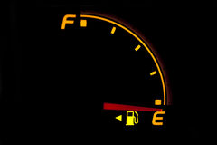 燃料表 免版税库存图片