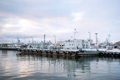 燃料驳船 免版税库存图片