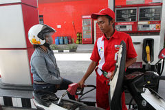 燃料 免版税库存照片