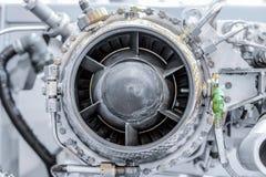 燃气轮机辅助电源设备正面图  库存图片