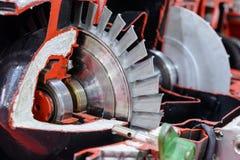 燃气轮机辅助电源设备细节  免版税库存图片
