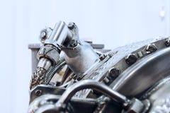 燃气轮机辅助电源设备细节  免版税图库摄影
