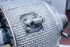 燃气轮机辅助电源设备细节  图库摄影