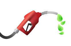 燃油泵。eco燃料例证设计 库存照片