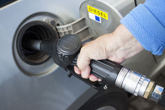 燃油泵 免版税图库摄影