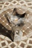 燃烧器传统迪拜的香火 免版税库存图片