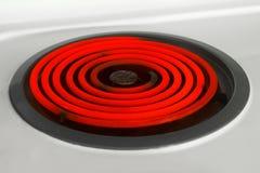 燃烧器热红色 免版税库存图片