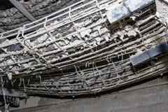 燃烧性测试缆绳 库存照片