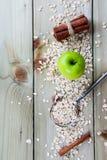 燕麦剥落 图库摄影