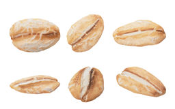 燕麦剥落 免版税库存图片