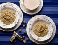 燕麦粥谷物 库存图片