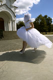 爆炸婚礼 免版税库存图片