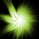爆炸绿色 免版税库存图片