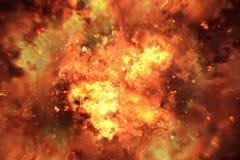 爆炸背景 图库摄影