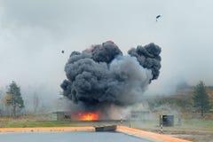爆炸 免版税图库摄影